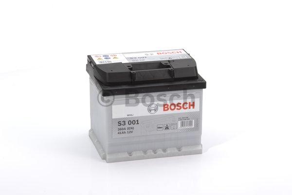 BOSCH Bosch S3 - 12v 41ah - autó akkumulátor - jobb+ *alacsony