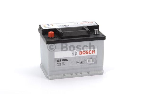 BOSCH Bosch S3 - 12v 56ah - autó akkumulátor - bal+