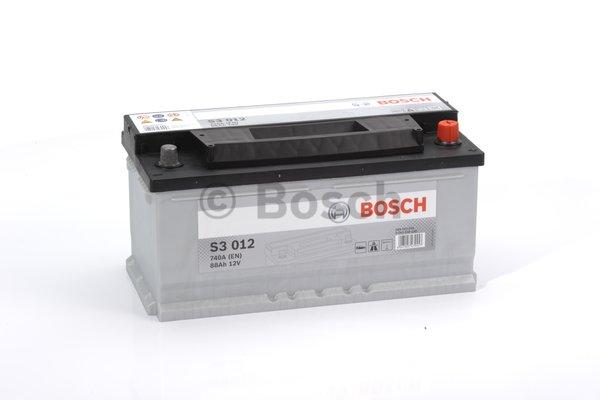 BOSCH Bosch S3 - 12v 88ah - autó akkumulátor - jobb+ *alacsony