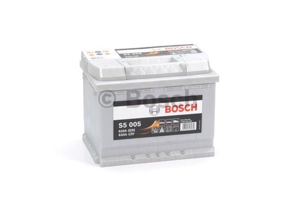 BOSCH Bosch S5 - 12v 63ah - autó akkumulátor - jobb+
