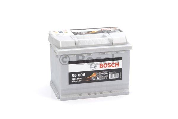 BOSCH Bosch S5 - 12v 63ah - autó akkumulátor - bal+