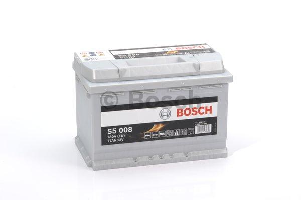 BOSCH Bosch S5 - 12v 77ah - autó akkumulátor - jobb+