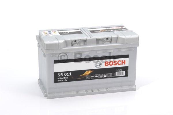 BOSCH Bosch S5 - 12v 85ah - autó akkumulátor - jobb+