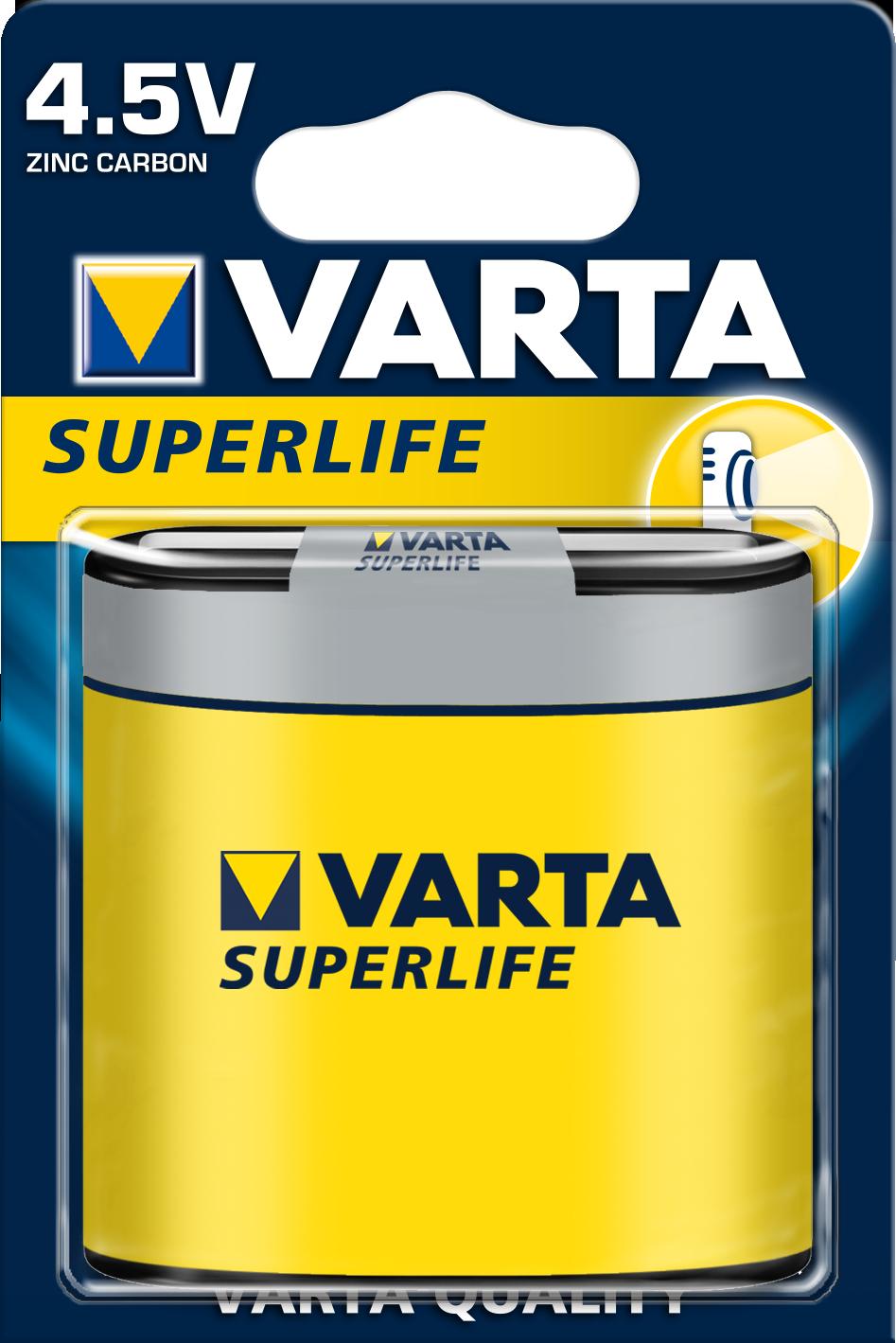 VARTA Elem 4,5 V Superlife laposelem