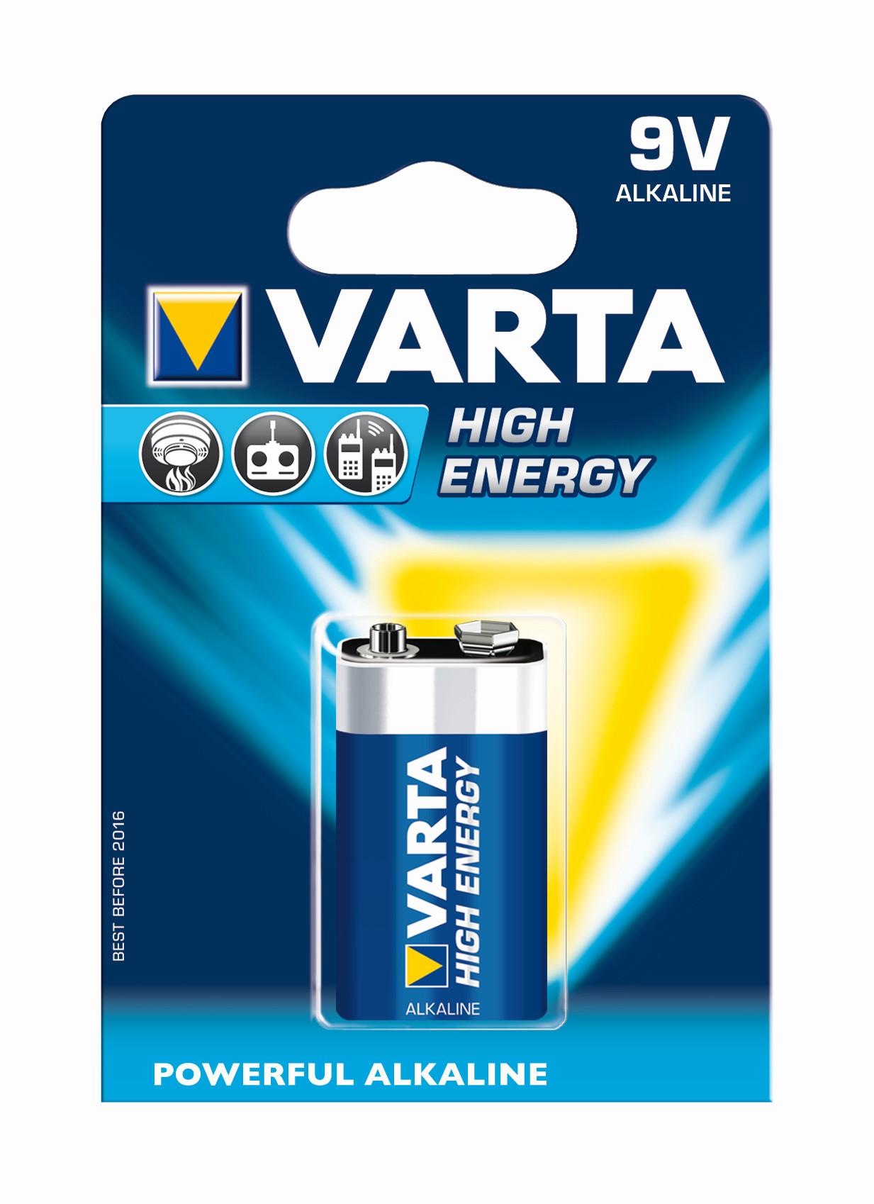 VARTA Elem 9V Longlife Power ( High Energy )