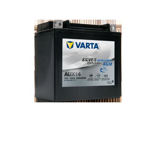 VARTA Varta - 12v 13ah - kiegészítő akkumulátor - bal+ AGM *YTX14 *AUX14