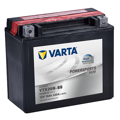 VARTA Varta - 12v 18ah - AGM motor akkumulátor * YTX20H-BS