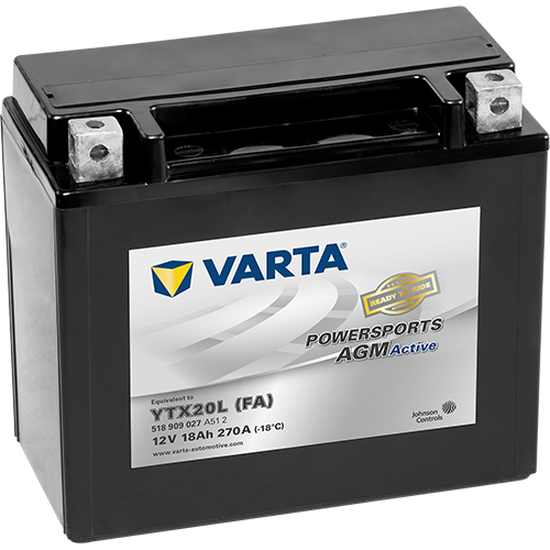 VARTA Varta - 12v 18ah - AGM motor akkumulátor * YTX20L-BS