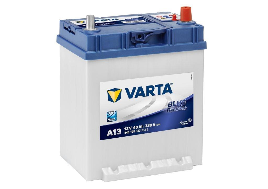 VARTA Varta Blue - 12v 40ah - autó akkumulátor - jobb+ *ázsia*vékonysarus*talpas