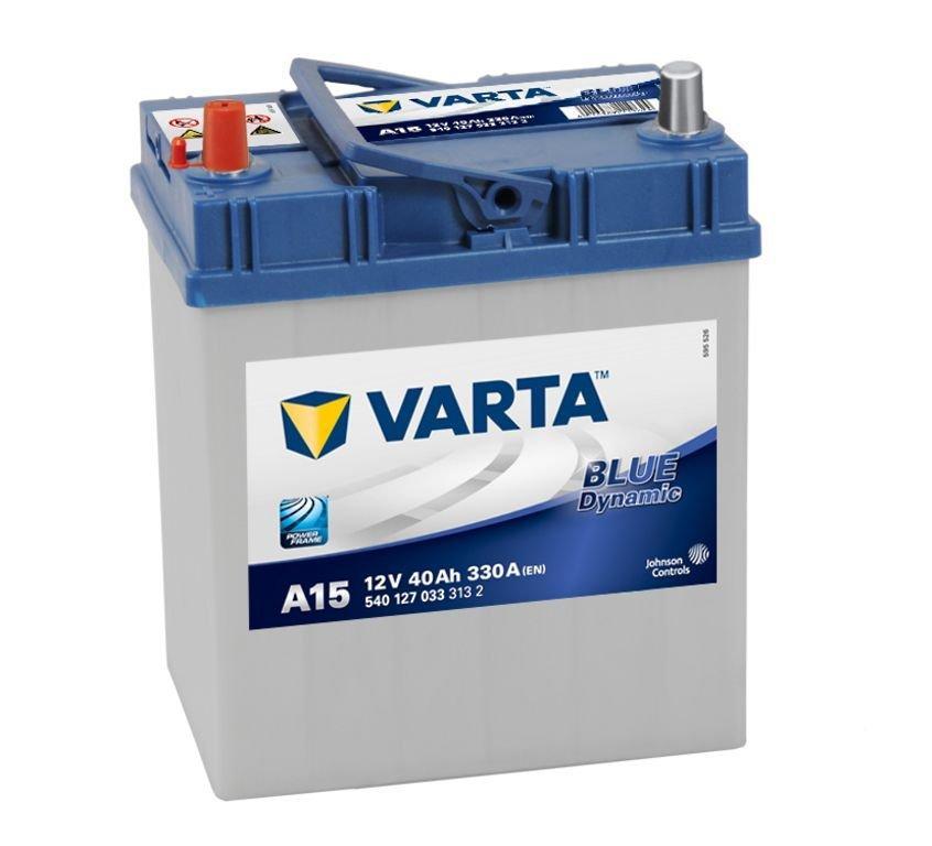 VARTA Varta Blue - 12v 40ah - autó akkumulátor - bal+ *ázsia*vékonysarus