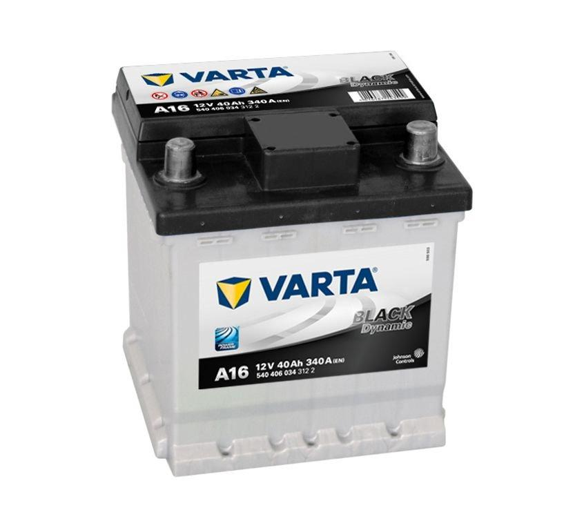 VARTA Varta Black - 12v 40ah - autó akkumulátor - jobb+