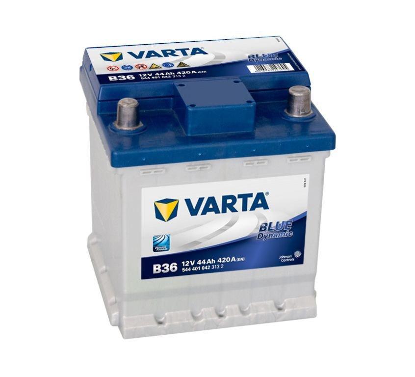 VARTA Varta Blue - 12v 44ah - autó akkumulátor - jobb+