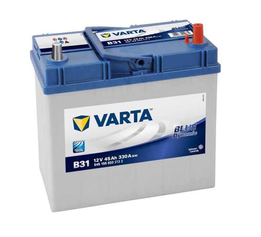 VARTA Varta Blue - 12v 45ah - autó akkumulátor - jobb+ *ázsia *vékonysarus