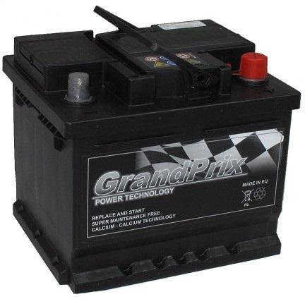 GrandPrix GrandPrix - 12v 45ah - autó akkumulátor - jobb+