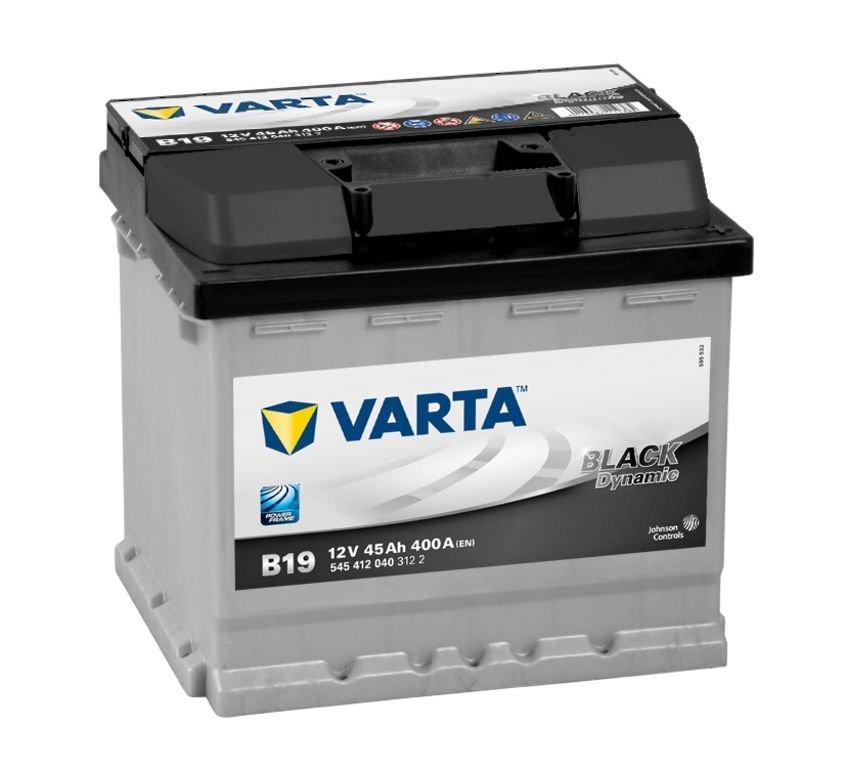 VARTA Varta Black - 12v 45ah - autó akkumulátor - jobb+
