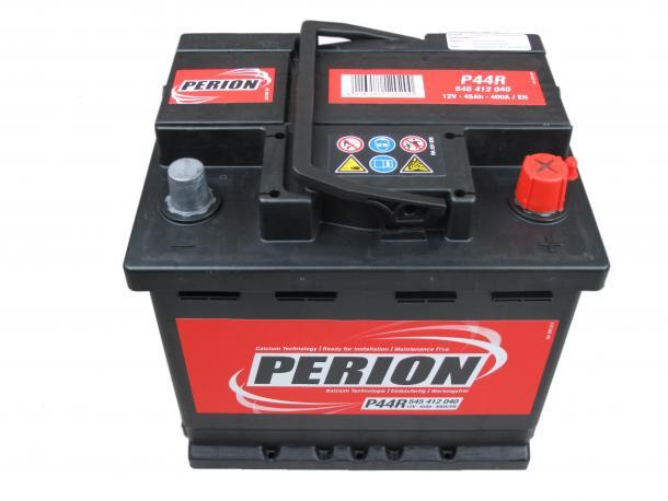 PERION Perion - 12v 45ah - autó akkumulátor - jobb+
