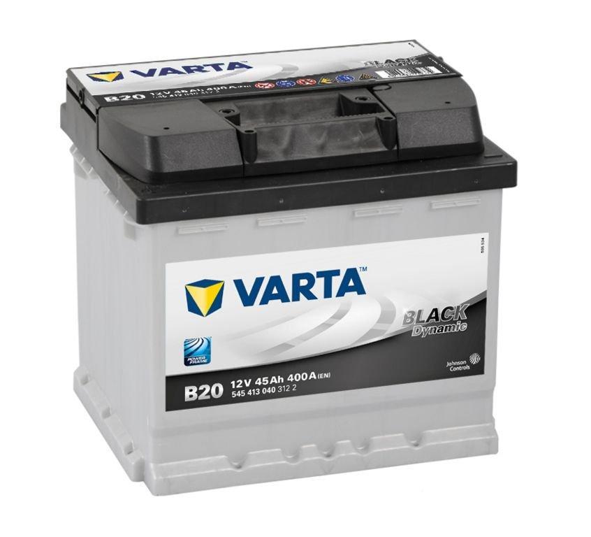 VARTA Varta Black - 12v 45ah - autó akkumulátor - bal+