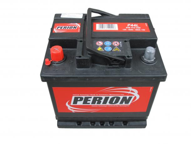 PERION Perion - 12v 45ah - autó akkumulátor - bal+
