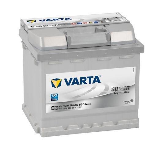VARTA Varta Silver - 12v 54ah - autó akkumulátor - jobb+