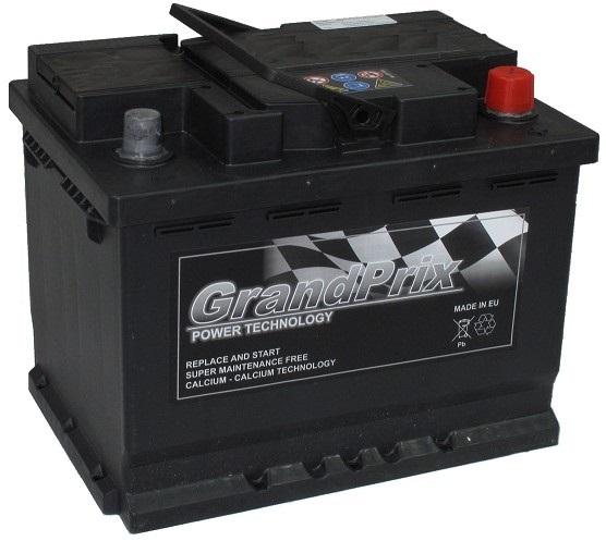 GrandPrix GrandPrix - 12v 60ah - autó akkumulátor - jobb+