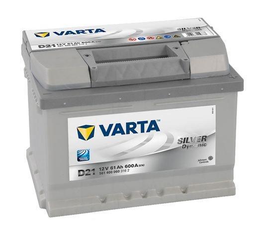 VARTA Varta Silver - 12v 61ah - autó akkumulátor - jobb+ *alacsony