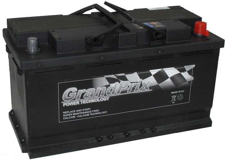 GrandPrix GrandPrix - 12v 75ah - autó akkumulátor - jobb+