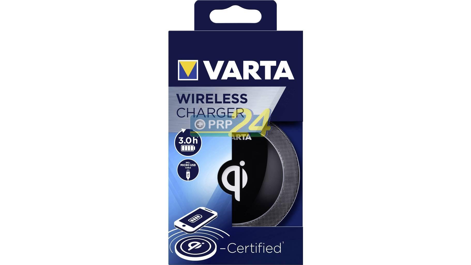 VARTA Elem akkumulátor töltő - Vezeték nélküli töltő II. széria
