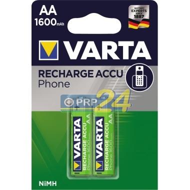 VARTA Elem akkumulátor AA 1600mAh 2db PHONE