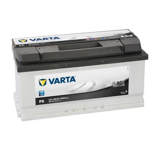 VARTA Varta Black - 12v 88ah - autó akkumulátor - jobb+ *alacsony