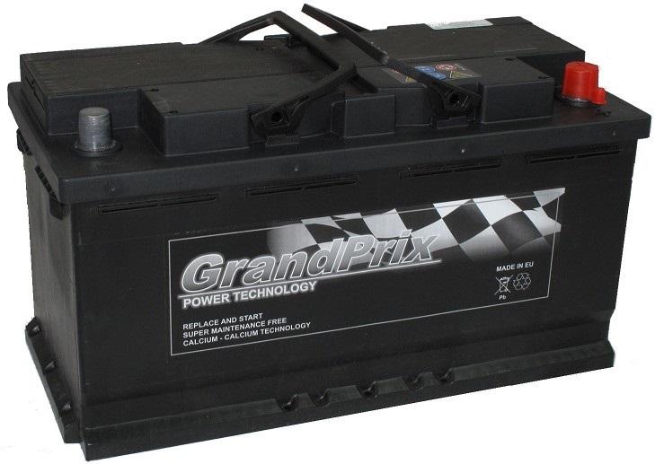 GrandPrix GrandPrix - 12v 100ah - autó akkumulátor - jobb+