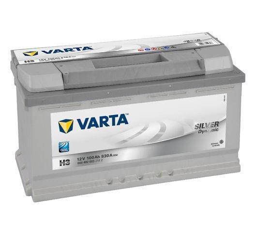 VARTA Varta Silver - 12v 100ah - autó akkumulátor - jobb+