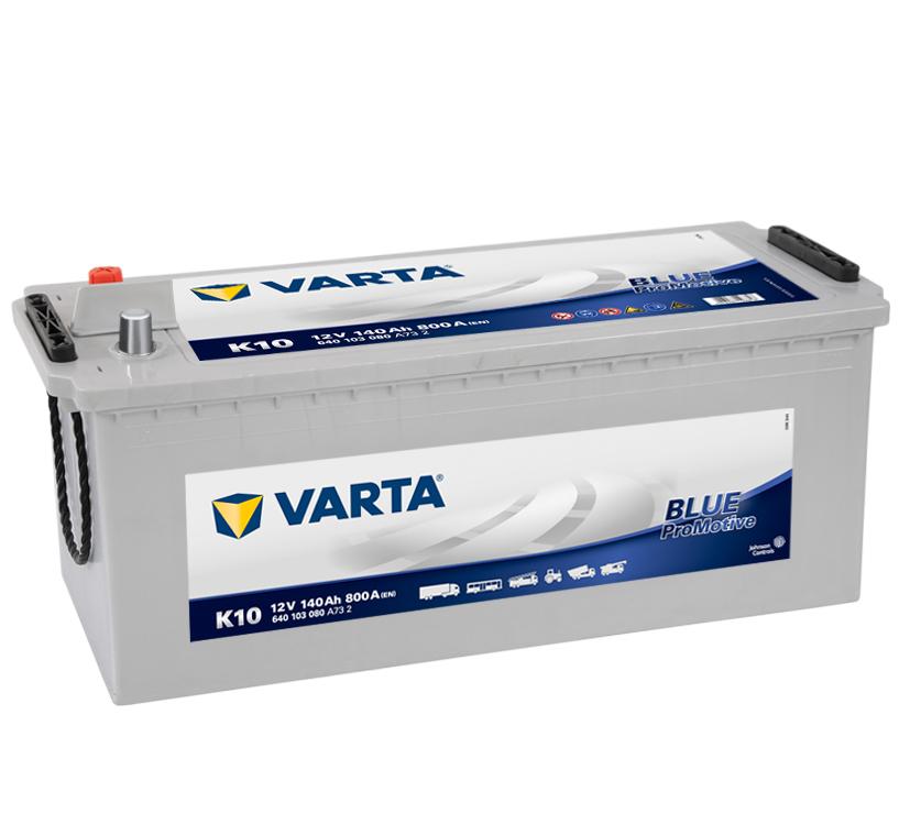VARTA Varta Promotive Blue - 12v 140ah - teherautó akkumulátor