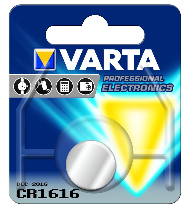 VARTA Elem fotó és kalkulátorelem CR1616