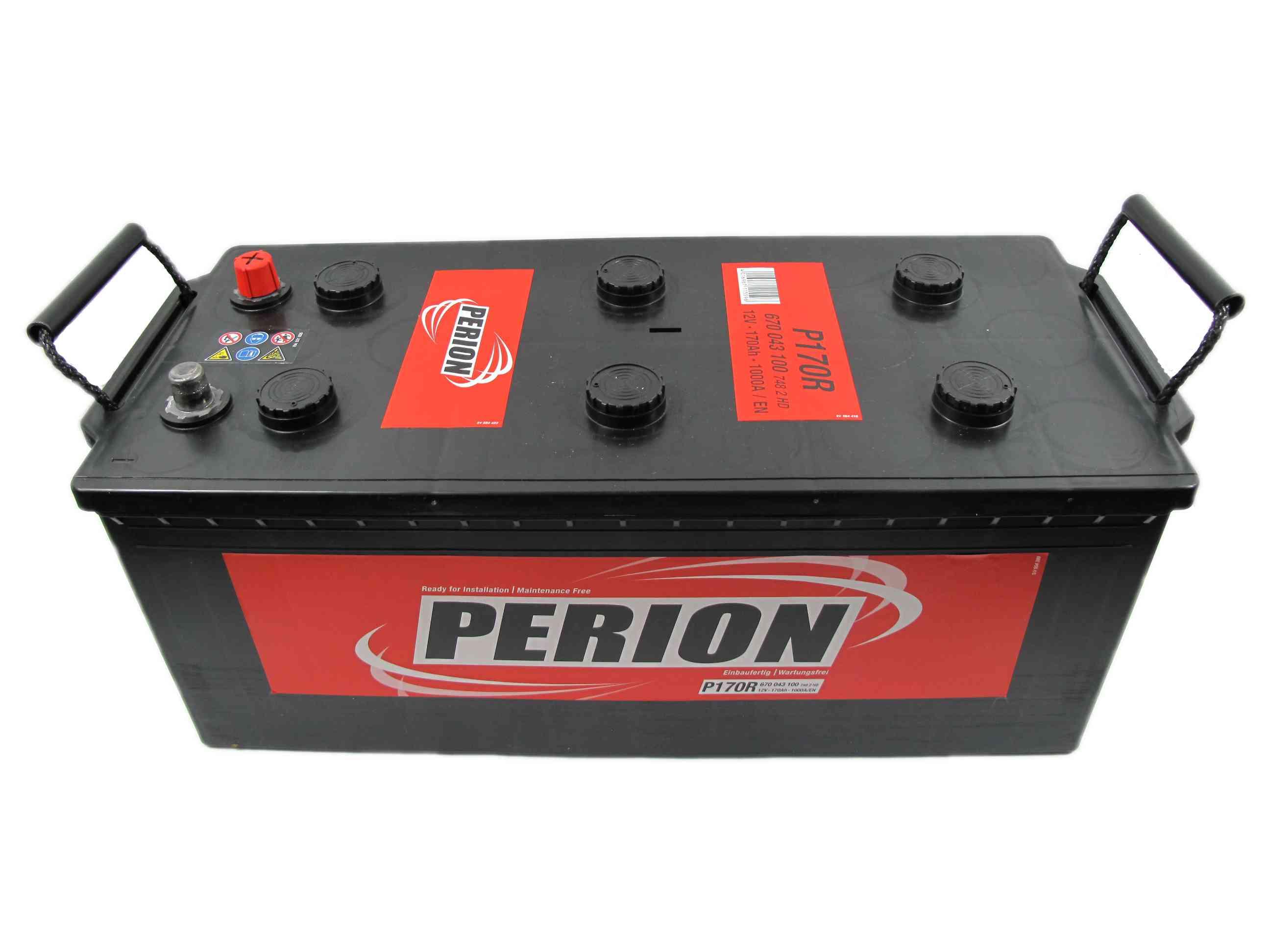 PERION Perion - 12v 170ah - teherautó akkumulátor