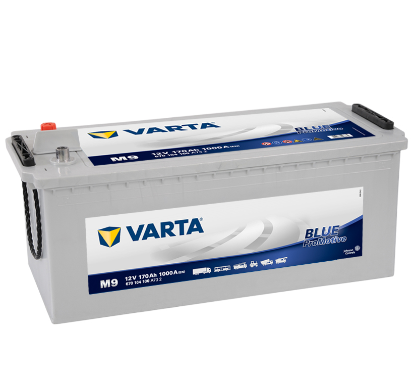VARTA Varta Promotive Blue - 12v 170ah - teherautó akkumulátor *talpas