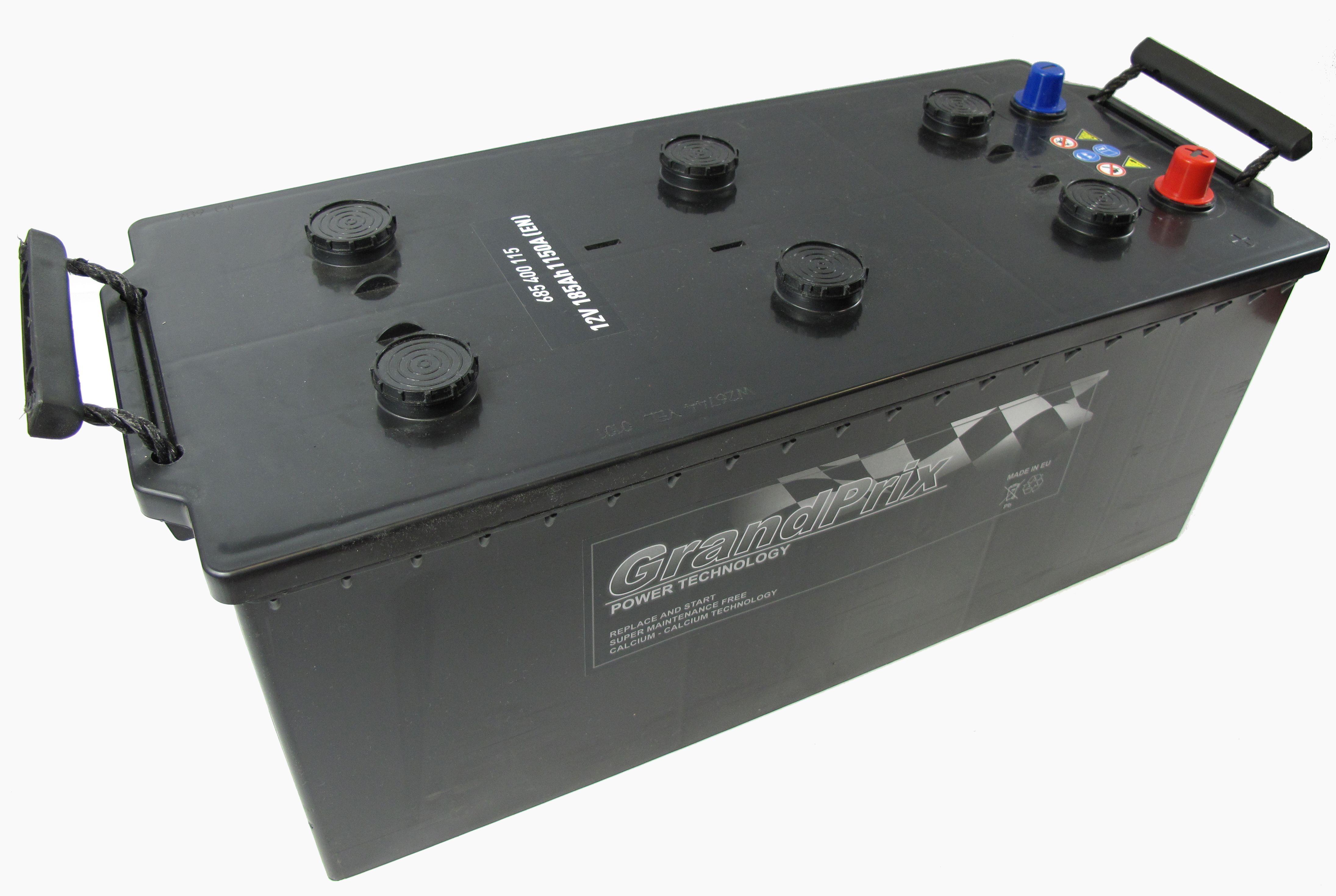 GrandPrix GrandPrix - 12v 185ah - autó akkumulátor - bal+