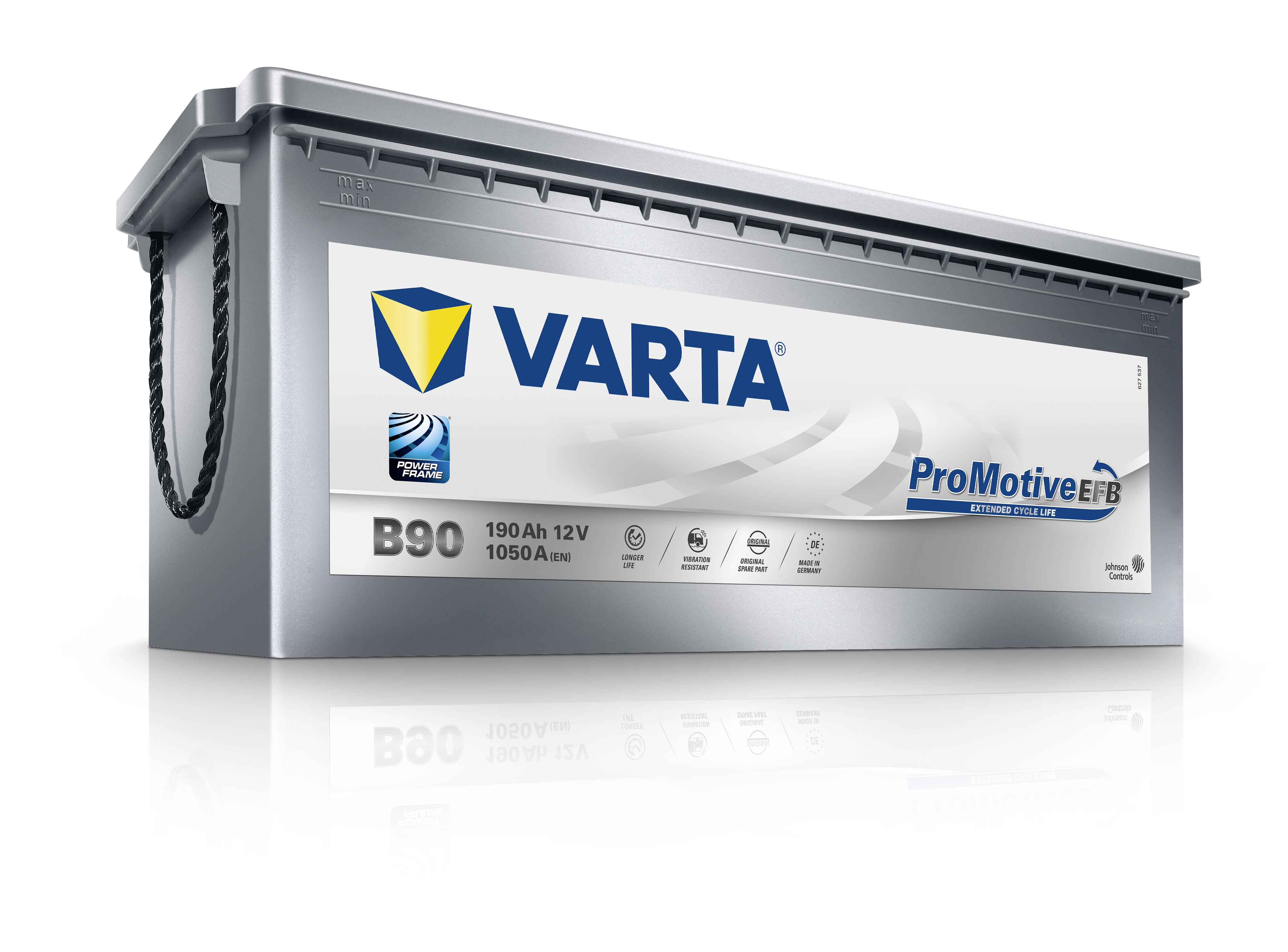 VARTA Varta Promotive Silver EFB - 12v 190ah - teherautó akkumulátor