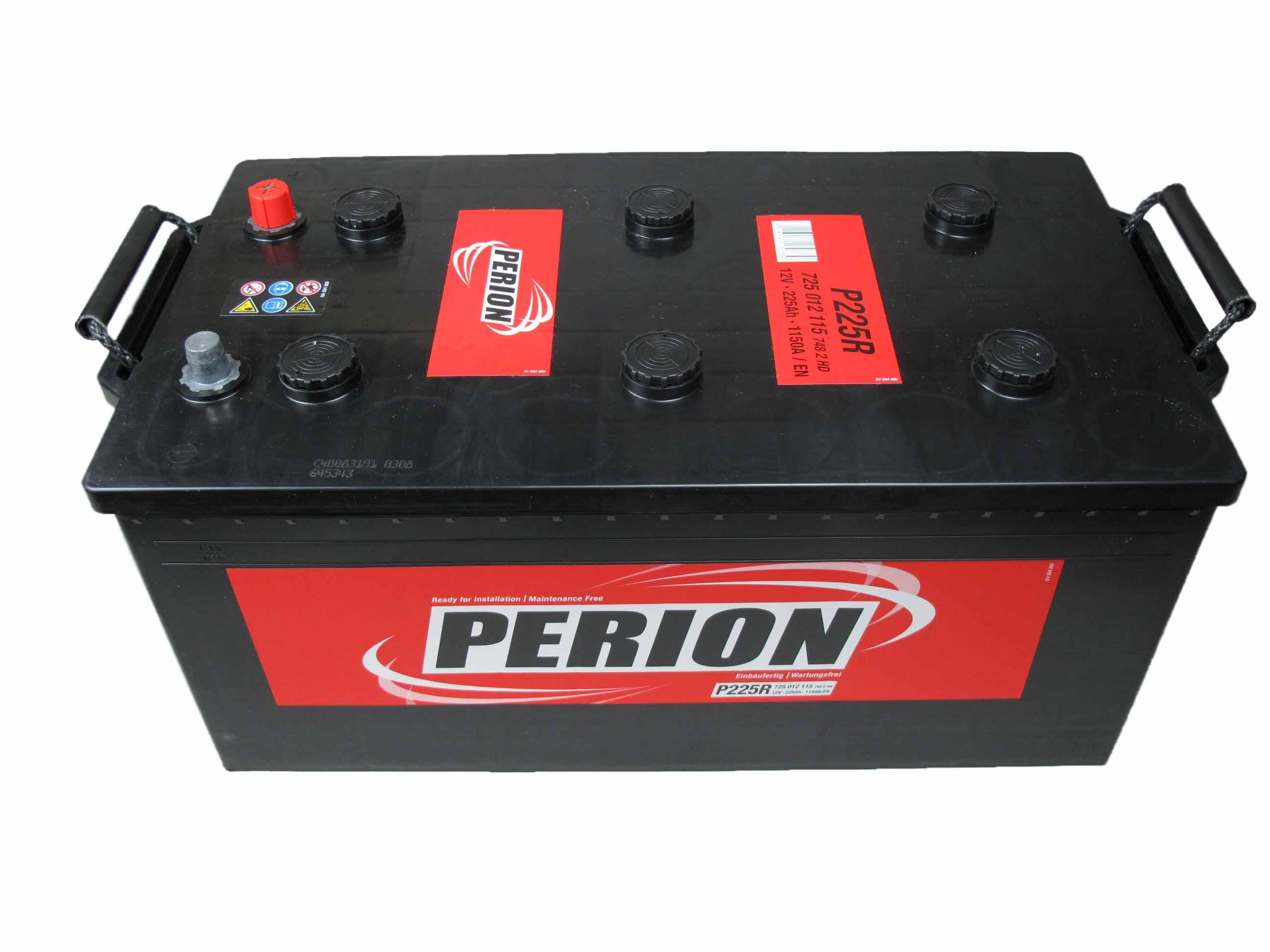 PERION Perion - 12v 225ah - teherautó akkumulátor
