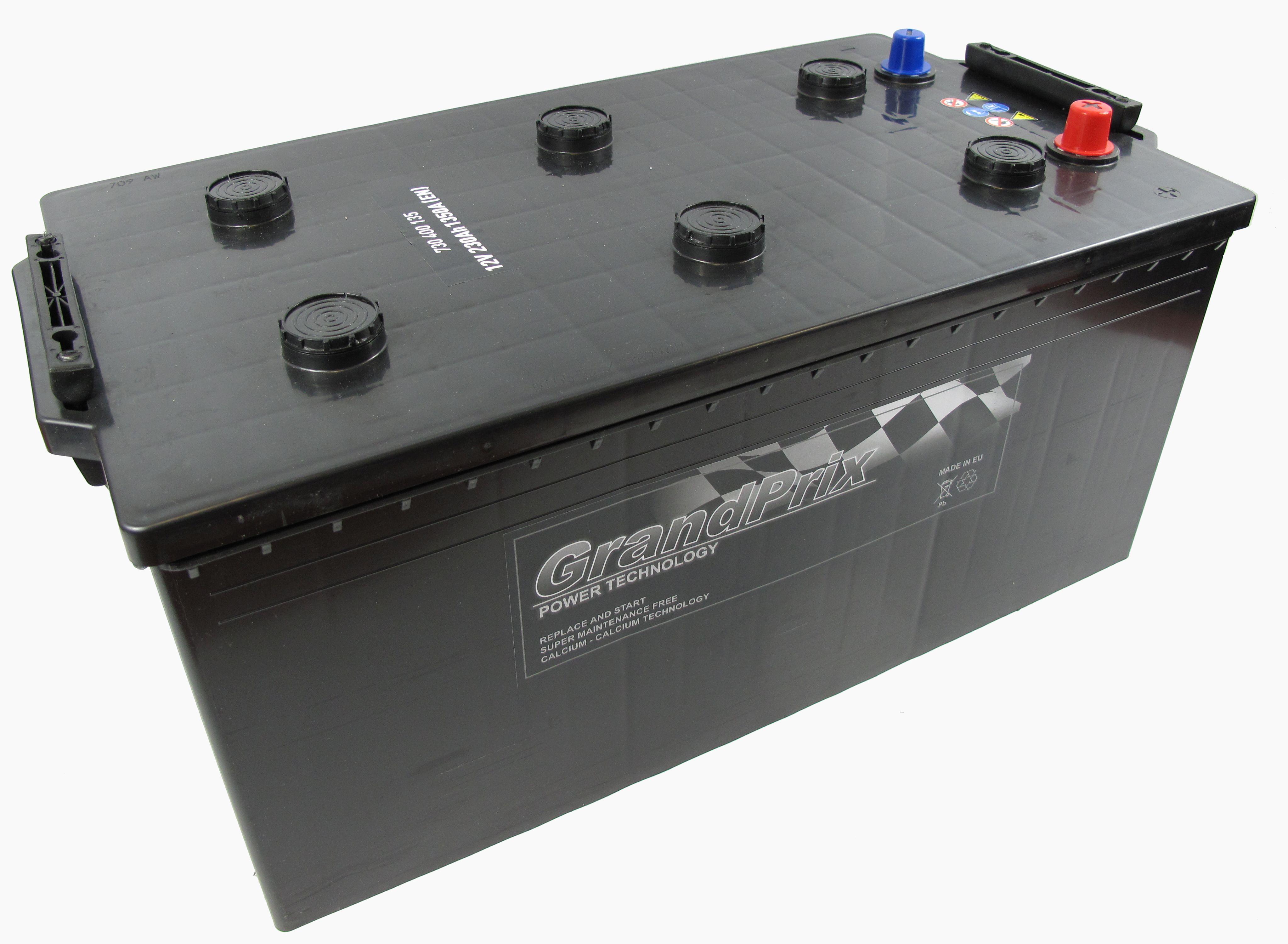 GrandPrix GrandPrix - 12v 230ah - autó akkumulátor - bal+
