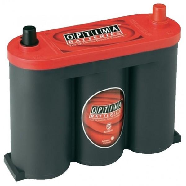 OPTIMA Optima Red - 6v 50ah - autó akkumulátor - közép *S - 2,1