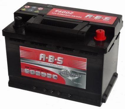 ABS ABS Working Power - 12v 125ah -  meghajtó akkumulátor - jobb+