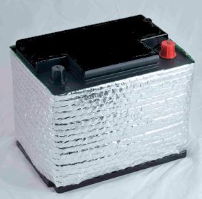 n/a Akkumulátor hővédő burkolat - európai - L