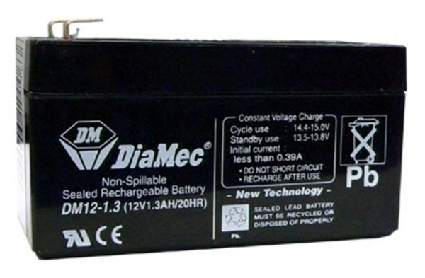 Diamec Diamec - 12V 1,3Ah - zárt savas akkumulátor