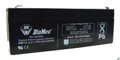 Diamec Diamec - 12V 2,2Ah - zárt savas akkumulátor