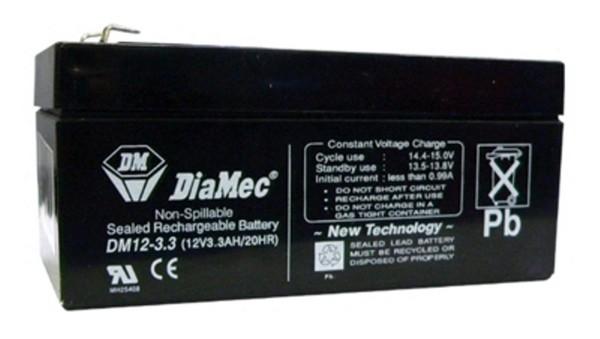 Diamec Diamec - 12V 3,3Ah - zárt savas akkumulátor