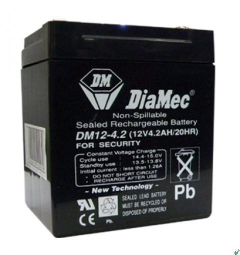 Diamec Diamec - 12V 4,5Ah - zárt savas akkumulátor