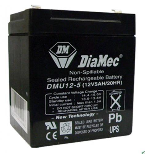 Diamec Diamec - 12V 5Ah - zárt savas akkumulátor UPS