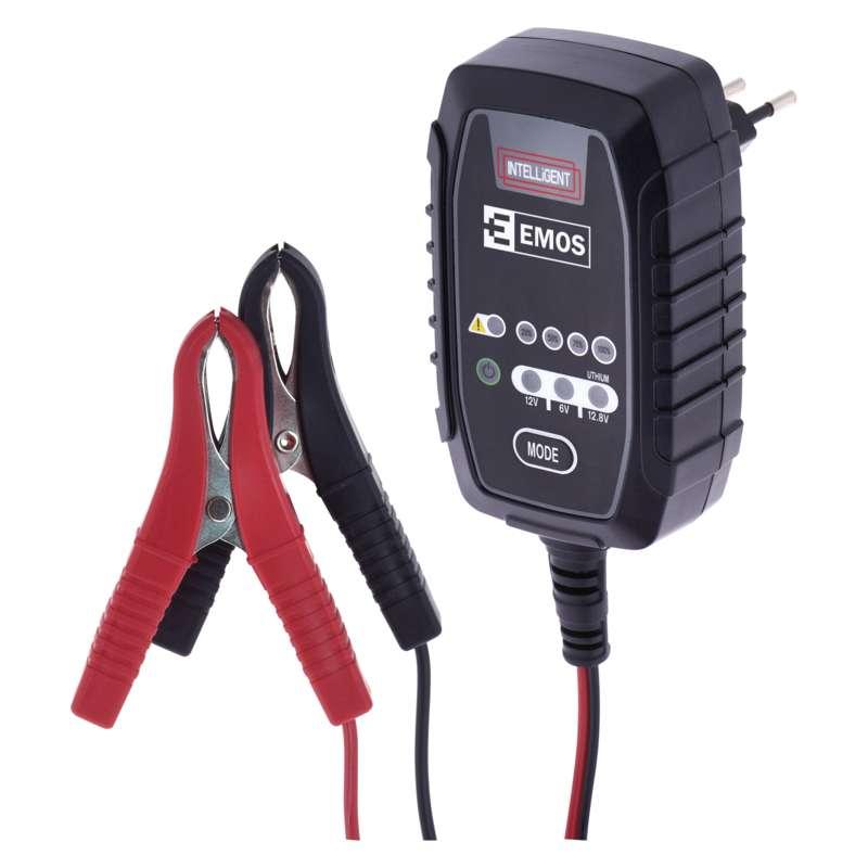 EMOS Akkumulátor töltő - 6v/12v * 0,8A