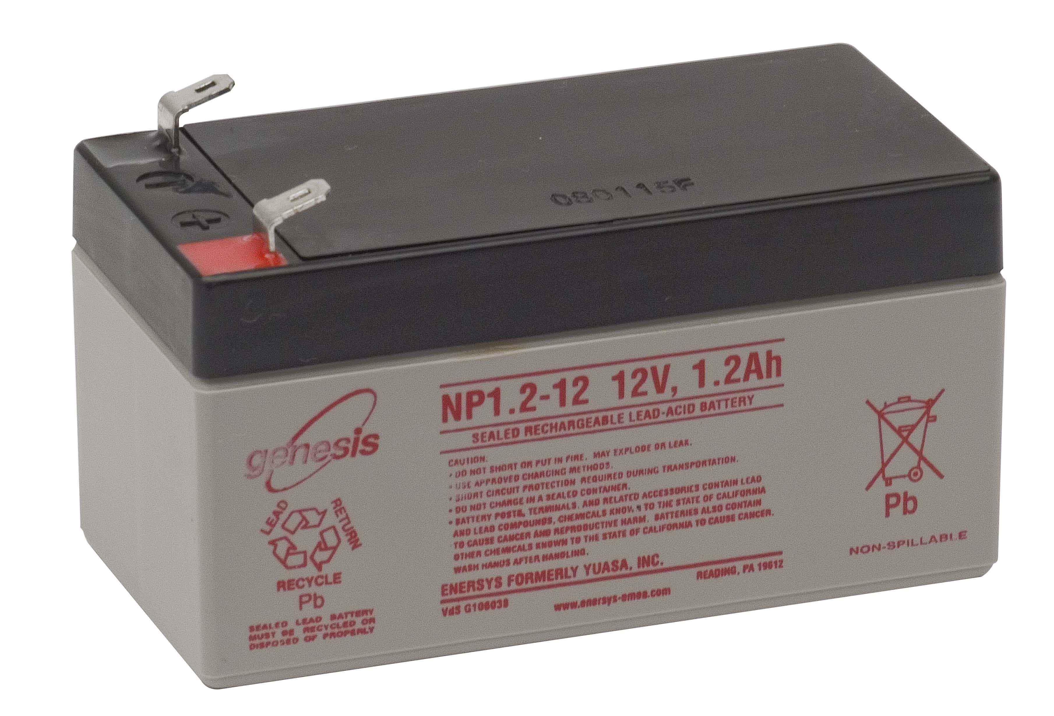 GENESIS Genesis - 12V 1,2Ah - zárt savas akkumulátor