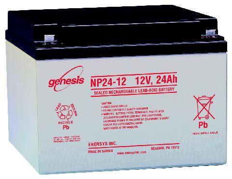 GENESIS Genesis - 12V 24Ah - zárt savas akkumulátor
